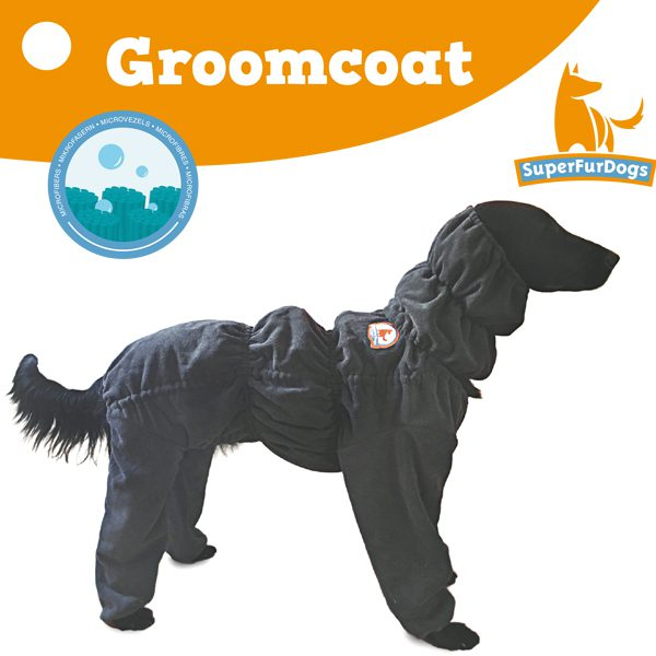 Wonderbaar Hondenbadjas Groomcoat SuperFurDogs - WE-94